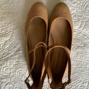 Christian Siriano for Payless Tan Ballet Flats